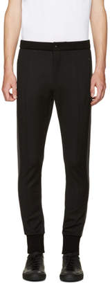 Dolce & Gabbana Black Cuffed Lounge Pants