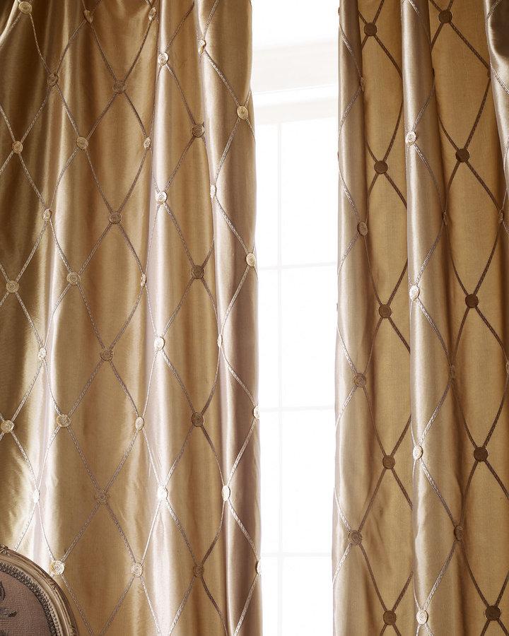 Horchow Each 55W x 108L Curtain