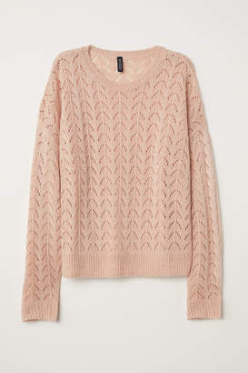 H&M Knit Sweater - Orange