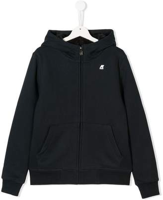 K Way Kids TEEN Quentin orsetto hooded fleece