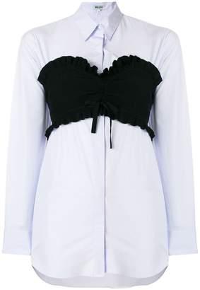 Kenzo bustier longline shirt