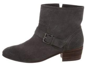Jean-Michel Cazabat Round-Toe Ankle Boots