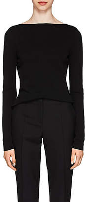 Givenchy Women's Lace-Back Knit Top - Black