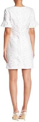 Trina Turk 3/4 Sleeve Knit Dress