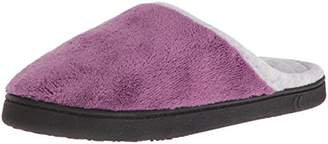 ... Isotoner Women s Microterry Wider Width Clog Slippers Slip 90714e269978