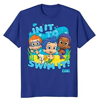 Nickelodeon Bubble Guppies In It To Swim It Graphic T-Shirt