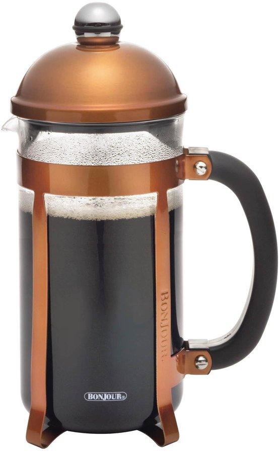 BonJour French Press Maximus 8-Cup w/ Flavor Lock Brewing, Copper
