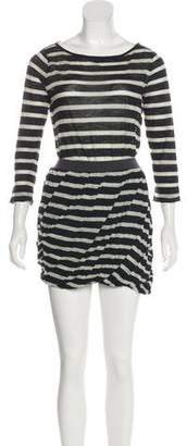 A.L.C. Wool Mini Dress