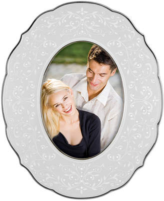 "Lenox Closeout! Picture Frame, Opal Innocence Oval 5"" x 7"""