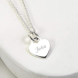 Modeschmuck Personalised Plectrum Necklace Engraved Guitar Pick On Sterling Silver Chain. Uhren & Schmuck