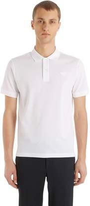 Prada Cotton Piqué Polo Shirt