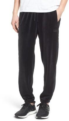 Men's Adidas Originals Velour Track Pants $90 thestylecure.com