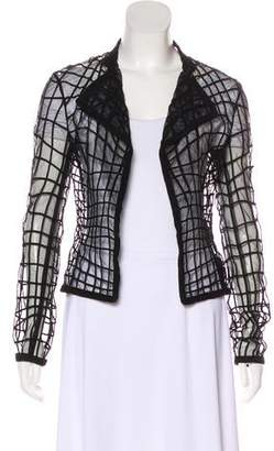Tom Ford Open Front Sheer Jacket w/ Tags