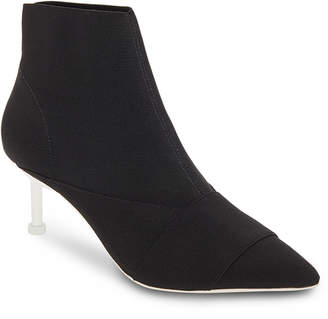 Mercedes Benz Castillo Elastic Booties with Contrast Heel