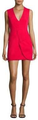 BCBGMAXAZRIA Clare Sleeveless Draped Dress