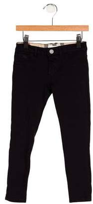 Burberry Girls' Three Pocket Knit Leggings