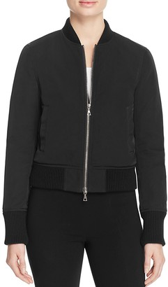 Theory Daryette Bomber Jacket $455 thestylecure.com