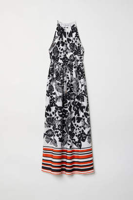H&M Sleeveless Maxi Dress - Black