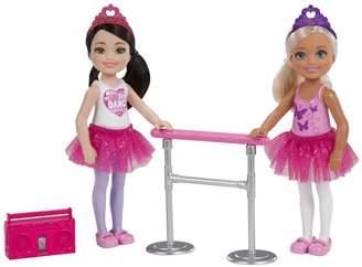 Barbie Club Chelsea 2-Doll Ballet Set