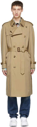 Burberry Beige Westminster Trench Coat