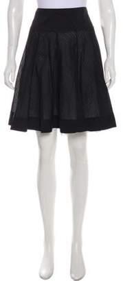 Blumarine Knee-Length Knit Skirt Black Knee-Length Knit Skirt