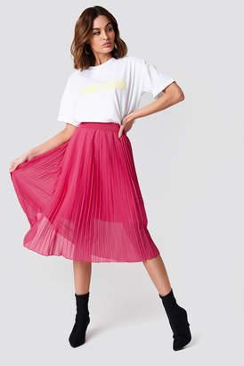 Na Kd Trend Pleated Midi Skirt