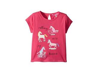 Joules Kids Pixie Screen Printed Tee (Toddler/Little Kids)