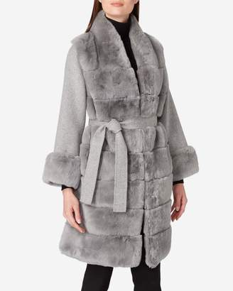 N.Peal Long Cashmere and Rex Coat