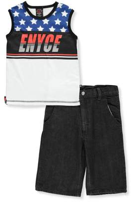 Enyce Little Boys' 2-Piece Short Set Outfit