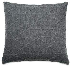 DKNY City Pleat Knit Decorative Pillow, 18 x 18