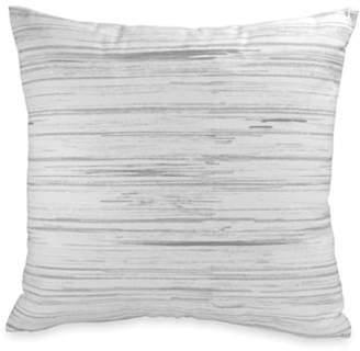 DKNY Loft Striped Cotton Cushion