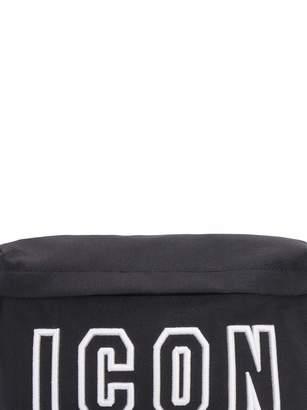 Nylon Embroidered Belt Bag
