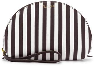 Henri Bendel Centennial Stripe Large Dome Cosmetic Case