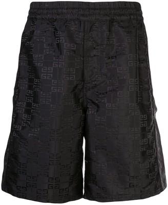 Givenchy 4G shell shorts