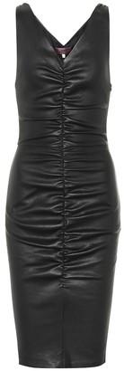 STOULS Lala leather dress