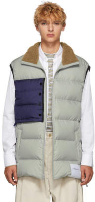 3.1 Phillip Lim Grey Oversized Down Vest