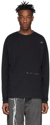 Oakley By Samuel Ross by Samuel Ross Black Skydiver Zipped T-Shirt