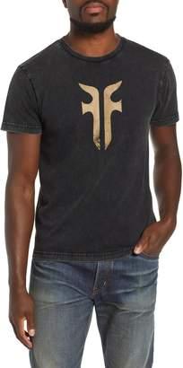 Frye Double-F Logo Acid Wash T-Shirt