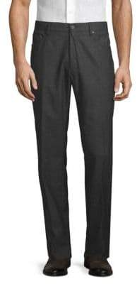 Incotex Modern-Fit Wool & Cashmere Pants