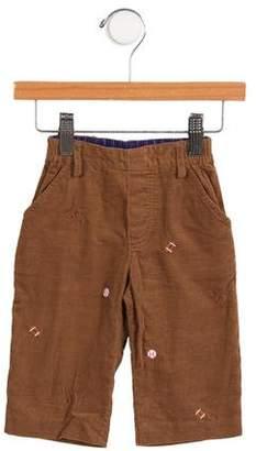 Florence Eiseman Boys' Embroidered Corduroy Pants