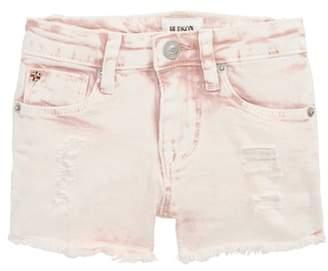 Hudson Frayed Acid Wash Shorts