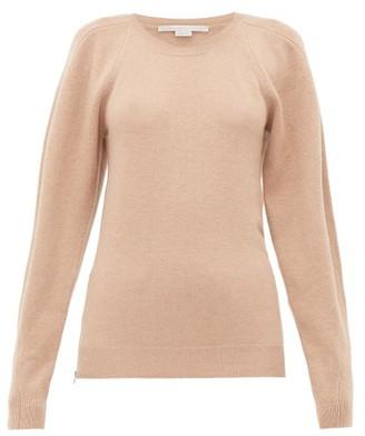 Stella McCartney Side Zip Wool Sweater - Womens - Beige