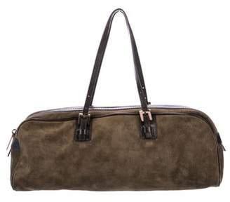 Fendi Suede E/W Shoulder Bag