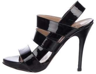 Valentino Patent Leather Strap Sandals
