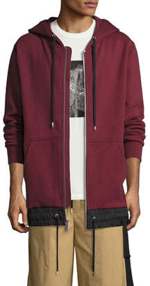 Public School Langston Highway French Terry Hoodie, Burgundy