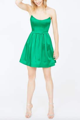 Amanda Uprichard Addie Satin Dress