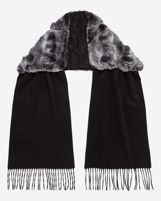 67e9ed2a1 Black Rabbit Fur Scarves & Wraps For Women - ShopStyle UK