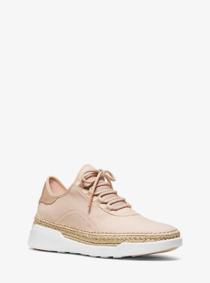 Michael Kors Finch Canvas Lace-Up Sneaker