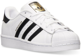 adidas Women's Superstar Casual Sneakers from Finish Line $79.99 thestylecure.com