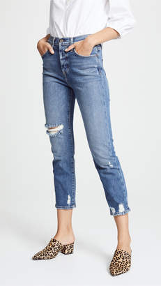 Alice + Olivia AO.LA by Amazing High Rise Girlfriend Jeans